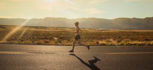 jogging footing soleil course